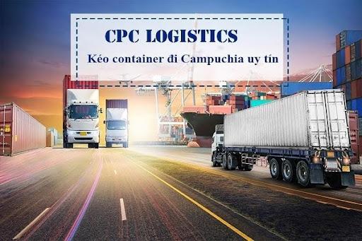 Kéo container đi Campuchia uy tín, giá rẻ